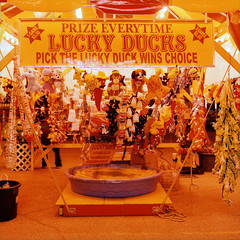 luckyduck (Turbobuddha) Tags: carnival film amusement ride cross hasselblad velvia velvia100 processed carny hassy
