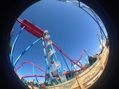 Dragon Khan (CoasterMadMatt) Tags: china park parque espaa fish eye primavera port de lens photography amusement spring spain foto dragon distorted photos may fisheye roller mayo rollercoaster khan montaa coaster themepark aventura espaol dragonkhan fisheyelens atracciones iphone fotografa fotografas portaventura rusa montaarusa parquetemtico 2013 coastermadmatt uploaded:by=flickrmobile flickriosapp:filter=nofilter