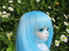 She just got new eyes (Smilga2008) Tags: blue snow yellow queen miel latidoll lati