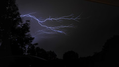 Lightning Bolt in Pittsburgh PA on 5-21-2013 (pgh_shutter) Tags: storm weather night nikon pittsburgh pennsylvania wideangle lightning thunder nikon1835mm d700 nikond700