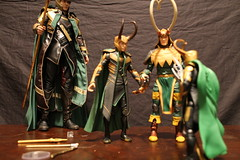 Photo Shoot6 (Black Rose Bride) Tags: toys loki marvellegends marvel minion theavengers hottoys emeraldino granddaddyloki lordkaiju
