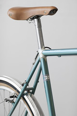 Royal H Teal Rando_02 (baumannphoto) Tags: boston steel custom campagnolo handbuilt randonneur 650b royalhcycles tealrando