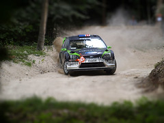 Ken Block WRC on Goodwood Rally Stage (SGH38) Tags: ford rally wrc goodwood motorsport goodwoodfestival