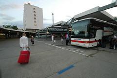ZOB Ankunft Eurolines