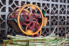spinning wheel (HenryHutter) Tags: people india flower traffic market fort bangalore palace whitefield tippu