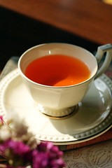 Hot Tea ชาร้อนหอมกรุ่น จากร้านเวียงจุมออน เซ็นทรัลเวิล์ด