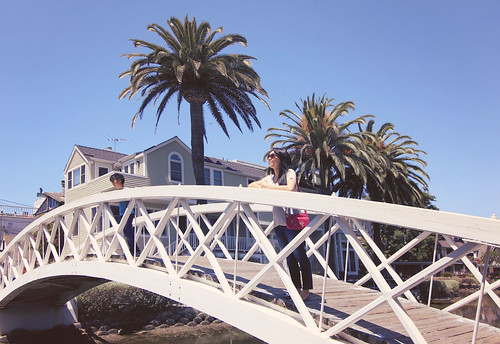 bridge of Venice canals