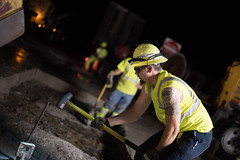 D6084_CM-350 (MoDOT Photos) Tags: nightworkzone modot i70 exitramp bycathymorrison d6084 maintenance concretereplacement heavyequipment safetygear harthats safetyglasses reflectiveshirts lights cones saw midway missouri