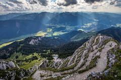 Wendelstein (_ME_photography) Tags: 1838 wendelstein berg mountain bayerische alpen bayern bavaria alps gebirge mangfallgebirge voralpen gipfel wendelsteinmassiv massiv alpenvorland leitzach inn seilbahn zahnradbahn jenbach mangfall kalten bayrischzell brannenburg osterhofen geitau wettersteinkalk berggipfel kapelle sternwarte wetterwarte geopark sendeanlage bayerischer rundfunk br kircherl otto steinbeis wendelsteinhhle tropfstein panorama aussicht view canon eos 80d apsc lightroom lr5 raw ultraweitwinkel deutschland germany sddeutschland wandern hiking leki ultra wide angle weg way gelnder treppe stairs stein gestein stone outdoor himmel natur nature landscape