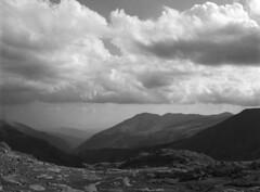 Deep and high (Mark Dries) Tags: markguitarphoto markdries spain aiguestortes mountains 6x45 film filmphotography mediumformat rpx100 rodinal 150 grain m645 mamiya