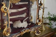 Schrein der seligen Ilga (Katholische Kirche Vorarlberg) Tags: ilga knochen reliquie