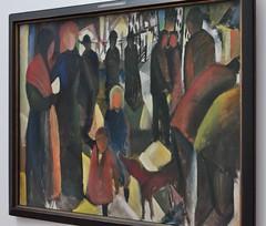 """""""Abschied"""", 1914, August Macke (1887-1914), Muse Ludwig (1986), Cologne, Rhnanie du Nord-Westphalie, Allemagne. (byb64) Tags: museludwig peterludwig museumludwig cologne kln colonia rhnaniedunordwestphalie nordrheinwestfalen northrhinewestphalia renaniadelnortewestfalia renaniasettentrionalevestfalia rhnanie rhineland rheinland renania ville allemagne deutschland germany germania alemania europe europa eu ue rfa nrw stadt ciudad town citta city muse museum museo artmoderne xxe 20th artcontemporain expressionisme expressionismus derblauereiter diebrcke abschied dpart departure macke augustmacke"""
