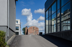 New and old (AstridWestvang) Tags: architecture grenland industry skien street telemark