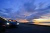 Sunset Scene at Shinji (Yohsuke_NIKON_Japan) Tags: nissan infiniti g37 infinitig37 skyline auto car matsue shinji lakeshinji shimane lakeside sunset dusk d600 1635mm longexposure スカイライン 日産 headlight lighting sanin japan