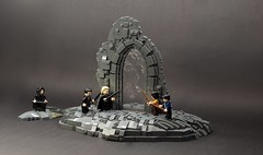 Harry Potter - Department of Mysteries (Wookieewarrior) Tags: harry potter lego moc department mysteries chamber death sirius black