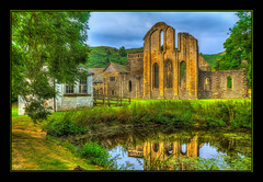 Valle Crucis Abbey (Kevin From Manchester) Tags: historical architecture beautiful building canon1100d canon1855mm church denbighshire hdr kevinwalker llangollen vallecrucisabbey wales abbey