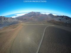 Haleakala Crater, Maui 3DR Solo (Aaron Lynton) Tags: haleakala 3dr drone maui hawaii gopro go pro
