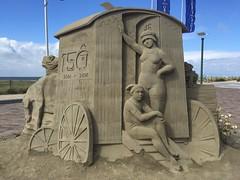 Sandsculptures in Noordwijk (Netherlands 2016) (paularps) Tags: sandsculpture zandsculptuur nederland netherlands noordwijk noordwijkaanzee cultuur culture nature natuur europa europe coast kust paularps arps strand beach worldwar2