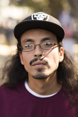 Sacramento Strangers #6 (NickSmyth) Tags: longhair hat mustache beard goatee glasses eyes eye ears ear mouth lips hair portrait portraiture streetportrait streetportraiture street strangers stranger people person bokeh bokehlicious eyelashes eyebrows nose sacramento california canon canon5dmarkiii canon5dmkiii 5d 5dmarkiii 5dmkiii 50mm sigma sigmalens sigma50mmf14dghsmart art artlens fullframe f14 largeaperture lens photography photograph photoshop photo picture dslr digitalcamera digitalphotography dof depthoffield digital digitalsinglelensreflex adobephotoshop