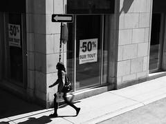 Walk This Way (C@mera M@n) Tags: blackandwhite canada monochrome people quebecity quebec street streetphotography urban outdoors urbanlife