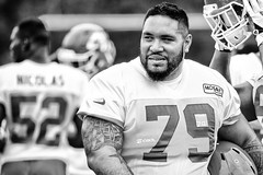 2016 Faces of Training Camp-54 (Mather-Photo) Tags: 2016 andrewmather andrewmatherphotography blackandwhite chiefs chiefskingdom chiefstrainingcamp closeup colorless faces football helmetoff kcchiefs kansascitychiefs matherphoto monochrome nfl sportsphotography summer team trainingcamp