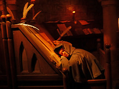 Spaceship Earth - Asleep on the job (Matt C68) Tags: epcot spaceship earth dark ride darkride