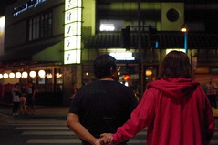 Couple @ The Cross Walk (Joey Z1) Tags: coupleatthecrosswalk nightscene japanesesectionoflosangeles jtown downtownlosangeles dtla evening nightscenela urbanlife laasseenbyjoeyz1 lalife lanights urbanla lifeinthestreet by la photo joey zanotti bylaphotolaureatejoeyzanotti