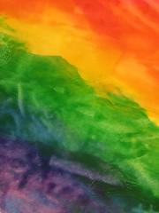 Rainbow watercolor (lars hammar) Tags: rainbow watercolor texture
