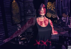Everything Is Cracked And Flayed (Cryssie Carver) Tags: secondlife second life sl mementomori memento mori weloveroleplay we love role play salem lucid thewhitecrow the white crow conviction doe catwa insol maitreya kalopsia buzzeri bunbun anlarposes an lar poses