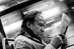 IMG_4246 (Lens a Lot) Tags: paris | 2016 canon ef 40 mm f 28 stm 2015 7 blades iris metro gate station subway underground black white street photography noir et blanc monochrome