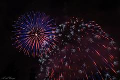 Fireworks (A. del Campo) Tags: nikon nikkor nikond7000 fuegosartificiales fireworks colores color colors noche nocturna sanmateo oviedo asturias principadodeasturias verano palmeras longexposure largaexposicin espaa spain