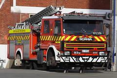 UI 3936 (ambodavenz) Tags: fireengine fireappliance newzealandfireservice newzealand southcanterbury maintenance timarufirestation reliefappliance lowesindustries scania p93m fire timaru