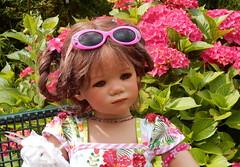 Milina ... (Kindergartenkinder) Tags: dolls himstedt annette kindergartenkinder essen park gruga milina kind