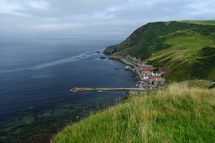 """""""Another day in paradise"""" Crovie on a clear sunny morning before a day out to Fochabers (favmark1) Tags: crovie banffshire morayfirth 2016 scotland"""