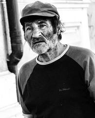 In my darkest confessions (vetlife2005) Tags: in darkest confessions blackandwhite portrait man male dark sad dissolution old oldman expression graveyardsholdthecourt fromdusktodark that laid you eternal rest