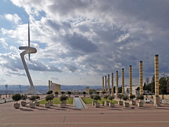 Montjuc Olympic Tower (Context Travel) Tags: montjuc barcelona shutterstock