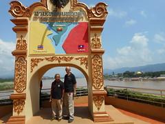 Golden Triangle 1 (SierraSunrise) Tags: rivers mekong mekongriver thailand laos myanmar goldentriangle chiangsaen chiangrai