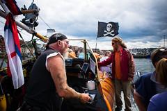 rocking (pamelaadam) Tags: whitby engerlandshire boat people lurkation august summer 2016 holiday2016 digital fotolog sea thebiggestgroup