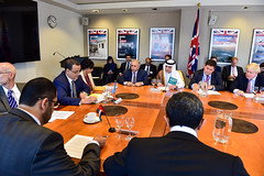 (H.H. Sheikh Abdullah bin Zayed Al Nahyan) Tags: abduallabinzayed gcc mofa mofaaic uae uaefm yemenquad unga2016 un johnkerry