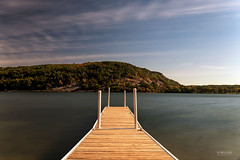Devil's Lake (In Wonder Photo) Tags: lake pier neutraldensity water clouds sky outdoors devilslakestatepark baraboo wisconsin nikon d750 markadsit