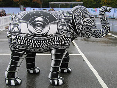 The Beat Goes On by Tom J Newell, Herd of Sheffield Farewell Weekend 2016 (Dave_Johnson) Tags: meadowhall carpark shoppingcentre thebeatgoeson tomjnewell tomnewell herdofsheffield herd elephant elephants art streetart sculpture sheffchildrens sheffieldchildrenshospitalcharity sheffieldchildrenshospital childrenshospitalcharity childrenshospital sheffield southyorkshire