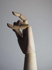 wooden hand (Gorana Guiboud-Ribaud) Tags: lichtundschatten licht light schatten shadow photoart wooden hand lightandshadow sculpture