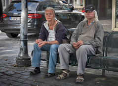 Deep in thought. (f22photographie) Tags: relaxing chillingout timeout sitting citylife streetscene ghent gent gand