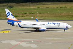 SunExpress Boeing 737-8HC(WL) TC-SEZ (EK056) Tags: sunexpress boeing 7378hcwl tcsez cologne bonn airportkln airport