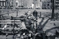 Solitude (-*Marie*-) Tags: black white nyc new york city usa