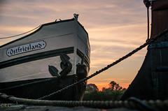 Sunrise_Ship (ostfriese77) Tags: sunrise sunset ostfriesland schiff ship sky sun cloud hafen harbour nikon d5100 landscape germany niedersachsen