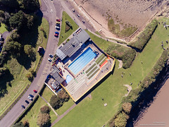 DJI_0056 (opnwong) Tags: aerial dji phantom4 portishead england unitedkingdom gb architecture building swimmingpool pool ngc