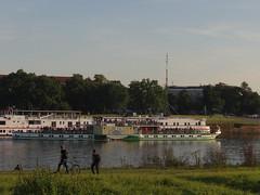 Dresden-0122_1 (pischty.hufnagel) Tags: dresden elbe dampfschiff dampfschifffahrt kurort rathen wende schaufelraddampfschiff schaufelraddampfer
