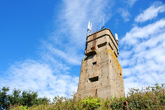 German fortification tower, Alderney / Channel Islands (anji) Tags: alderney channelislands englishchannel stanne bailiwickofguernsey