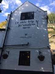 Nottingham (South Strand Trucking) Tags: oldest notts beer sandstone cave famous pub